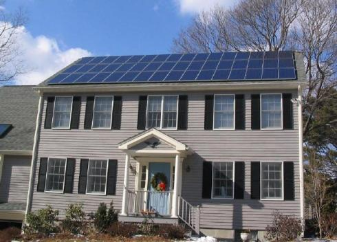 photovoltaic-solar-panels-on-a-house-roof