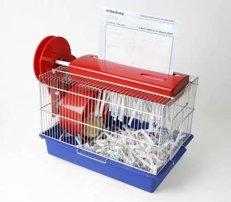 hamster-powered-paper-shredder