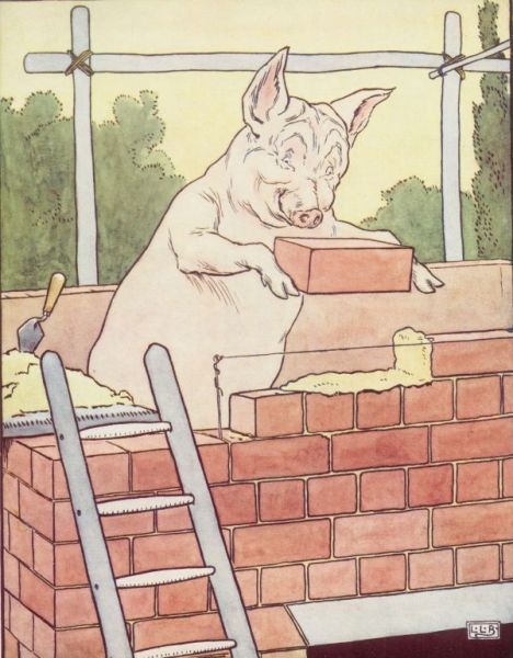 third_pig_builds_a_house