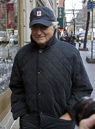 APTOPIX Madoff Scandall