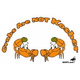 Crab aint kosher