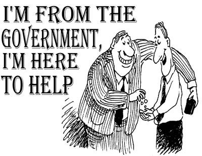 government help cartoon