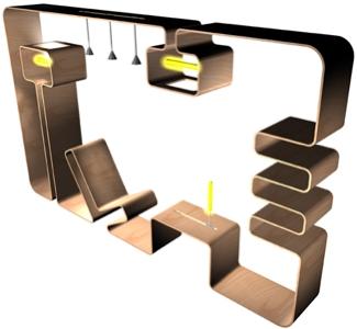facio blog living in a box. Black Bedroom Furniture Sets. Home Design Ideas
