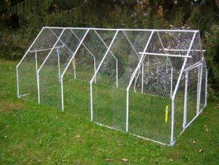 pvc pipe greenhouse frame - Chicken Co Op Plans And Greenhouse