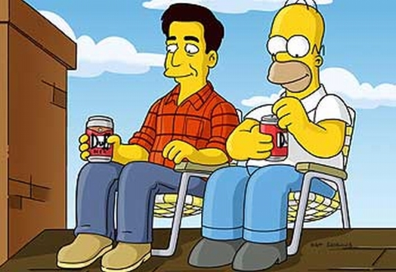 Image result for guys drinking beer in front yard of a rambler house