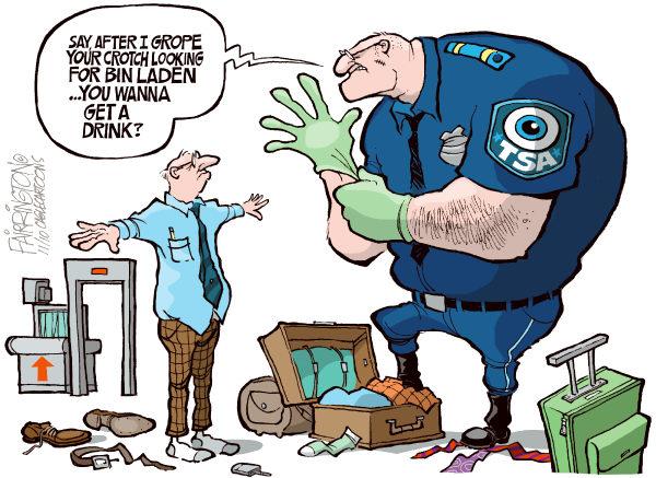 TSA Cartoon | Sheep Media