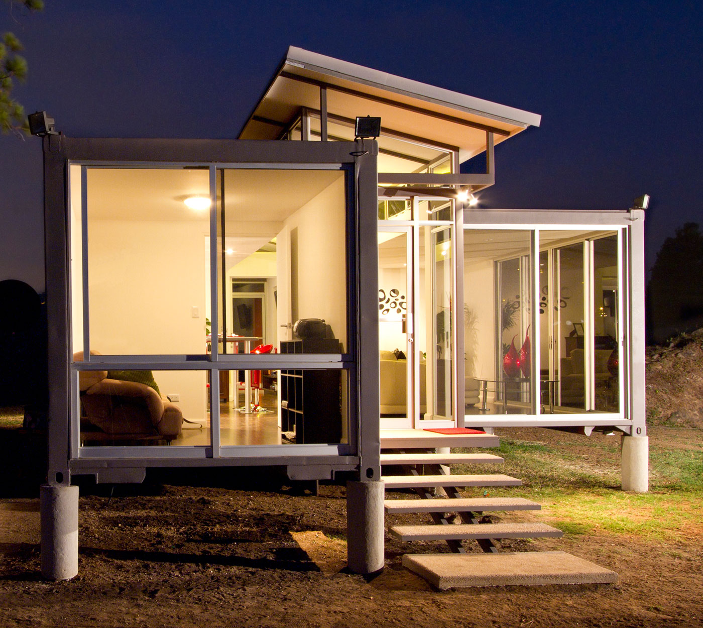 Container house the life and times of a renaissance ronin page 3 - Cheap shipping container homes ...