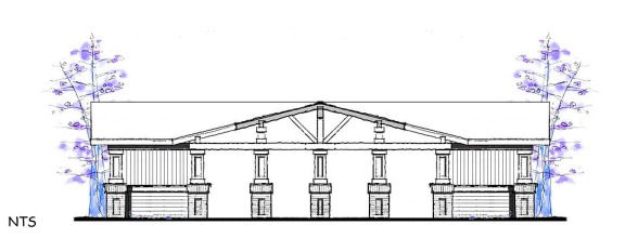20 horse Barn Elevation Concept
