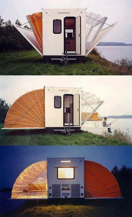 Accordian Cabin Concept for ISBU Conversion