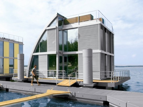 Steeltec Floating Home - render