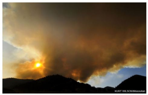 Lolo Creek Fire
