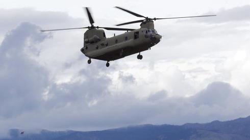 Military Chopper Evacuations
