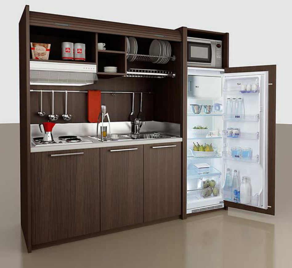Kitchen design the life and times of a renaissance ronin for Compact kitchens for small spaces