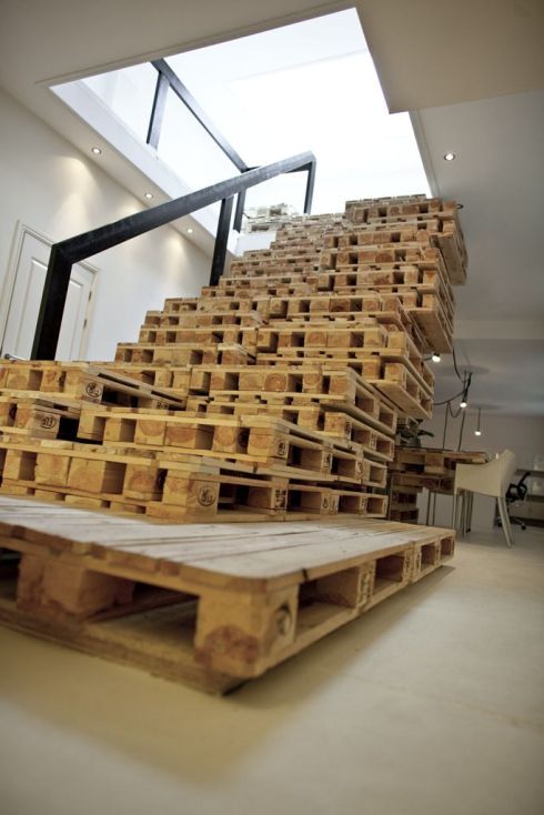 pallet - stairs
