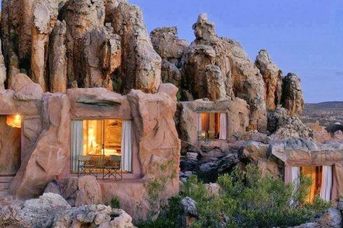 Corten Cave Cabin Concept