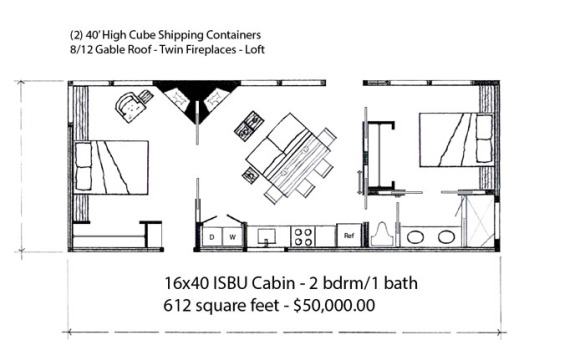 16x40 cabin floor plans joy studio design gallery best