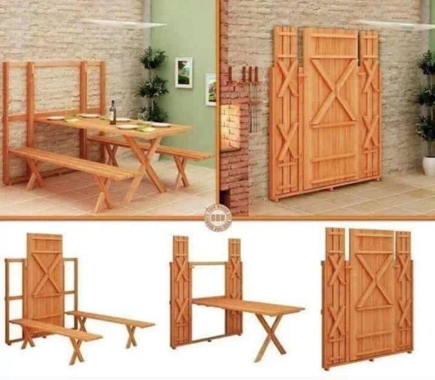 DIY Murphy Dining Table Plans Wooden PDF floating shelf design ...