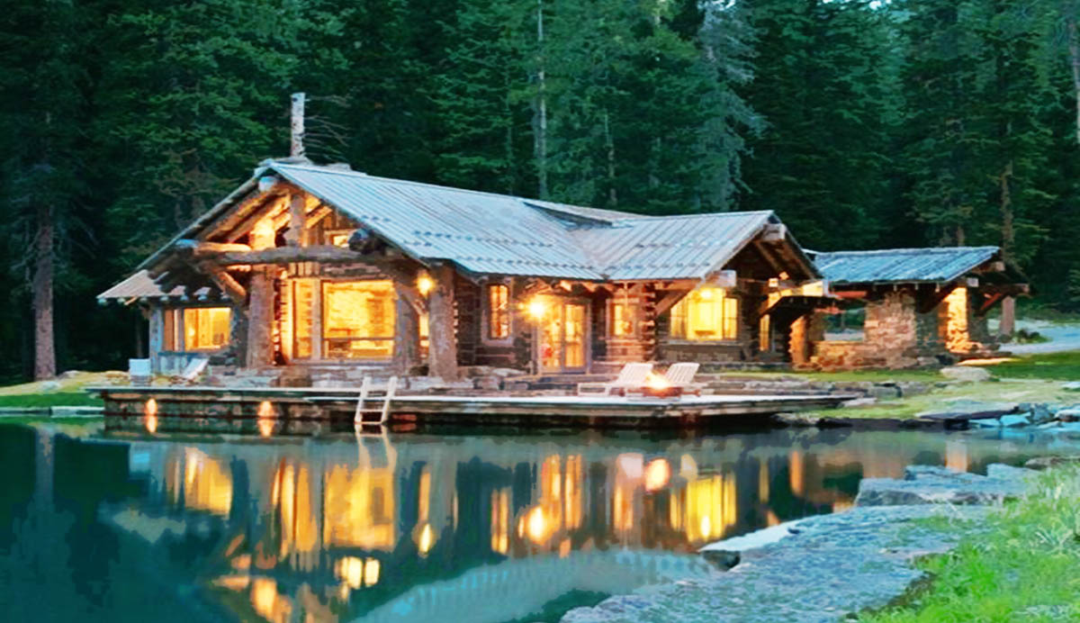A Corten Cabin by the pond… | The Life and Times of a ...