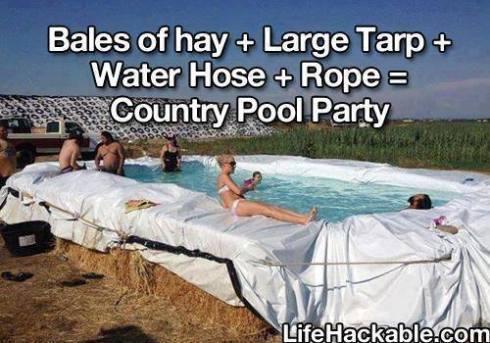 Cowboy Pool Party