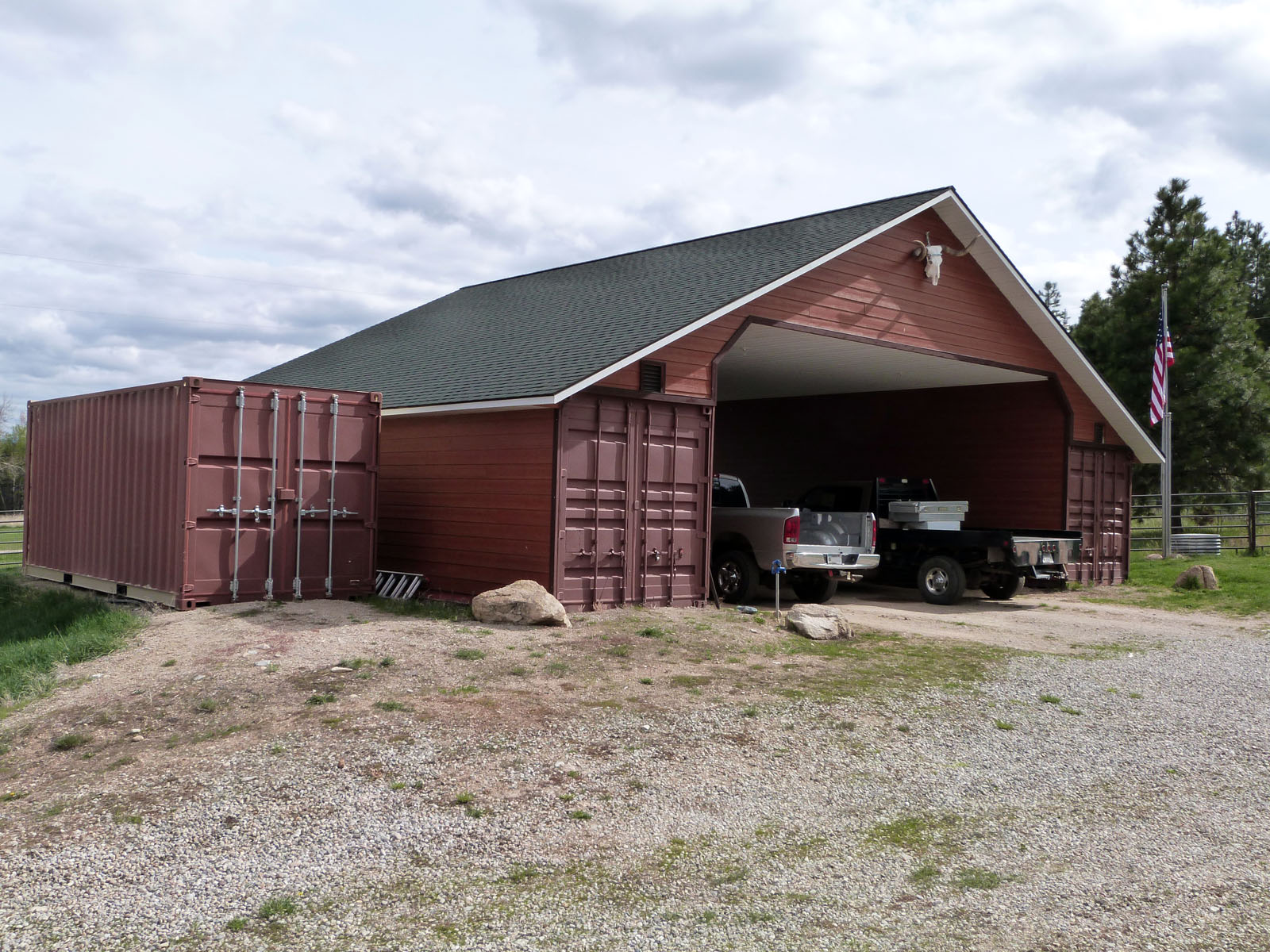 Help! I need a barn! | | Container Home Consultants