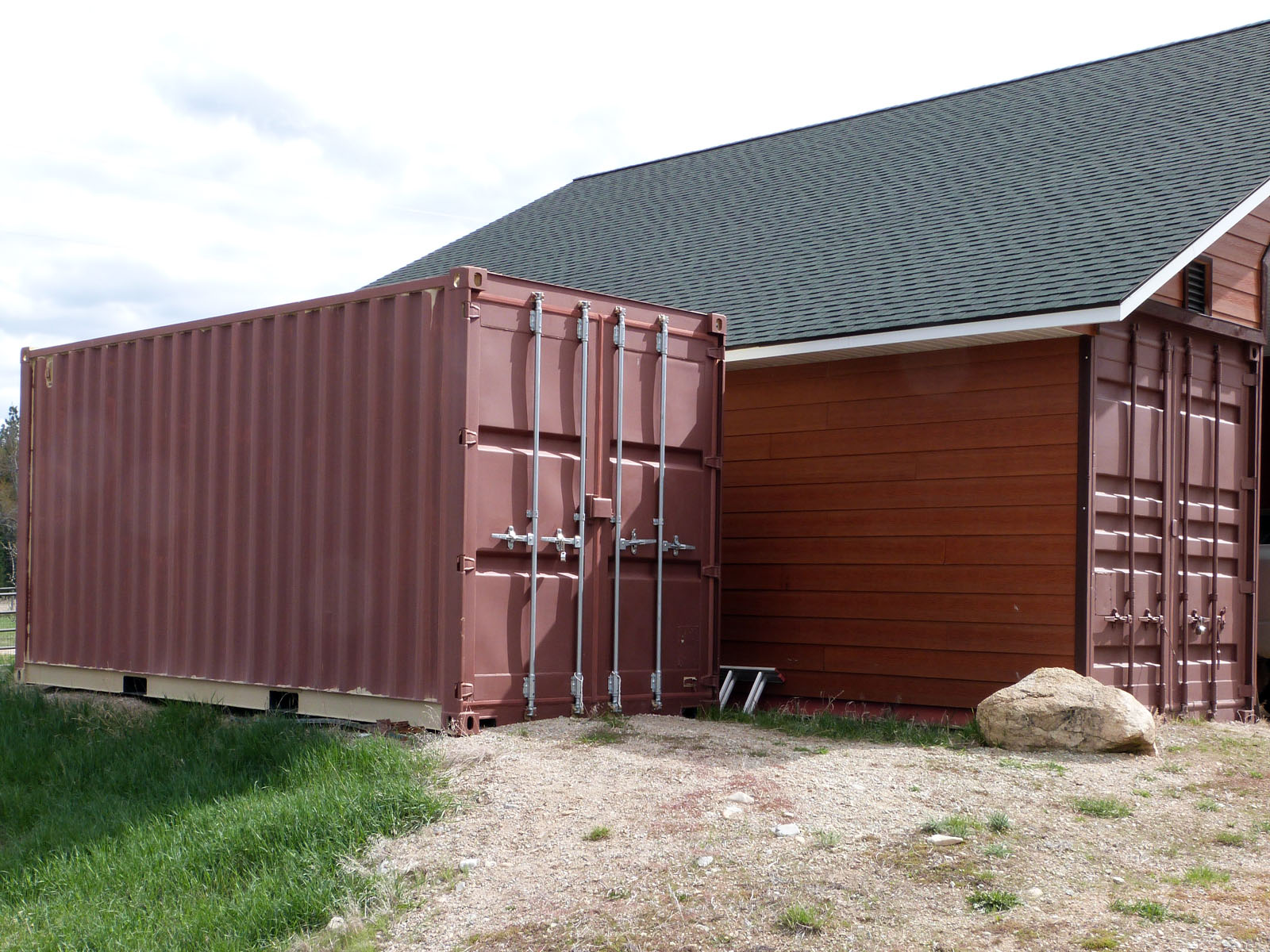 Isbu Shipping Container Barn Raising Anyone The Life And Times Of A Quot Renaissance Ronin Quot