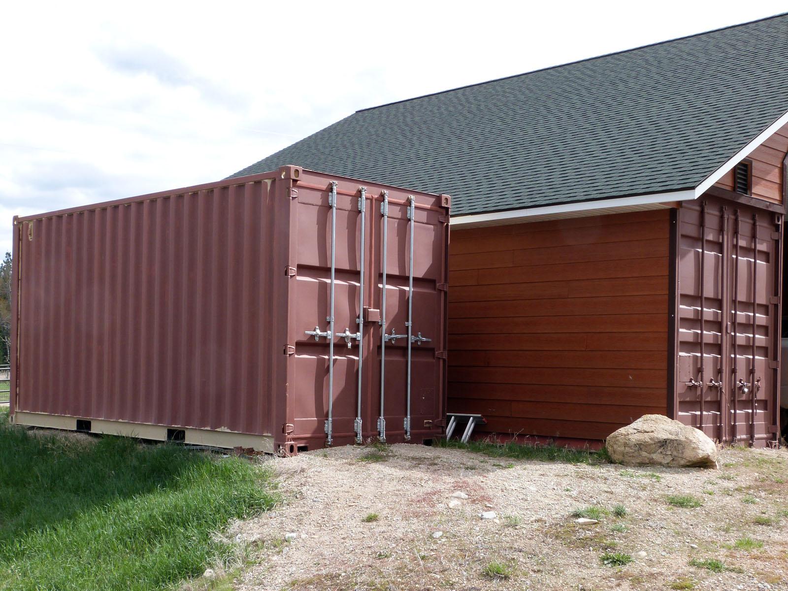 Isbu Shipping Container Barn Raising Anyone The Life