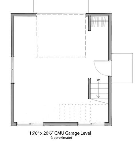 ISBU Micro-Condo - Garage