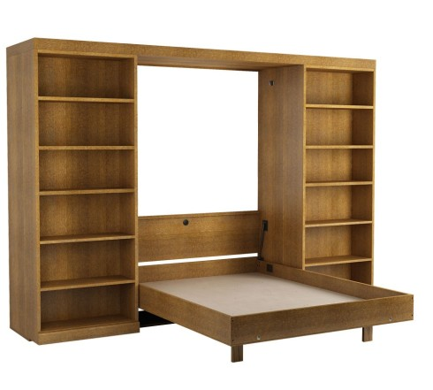 library-murphy-bed-in-oak-walnut-open